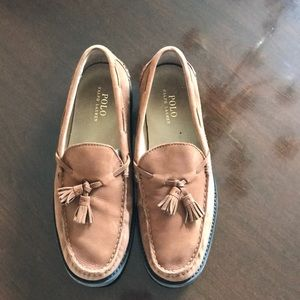 Polo Ralph Lauren Brown Suede Loafer